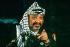 Yasser Arafat (1929-2004), Palestinian leader, head of the Palestine Liberation Organization. Libreville (Gabon), April 1989.   © Françoise Demulder / Roger-Viollet