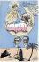 Voyage d'Emile Loubet (1838-1929), homme d'Etat français, en Algérie. Caricature par Orens. Avril 1903. © Roger-Viollet