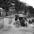 Toy seller in the Tuileries Gardens. Paris (Ist arrondissement), circa 1894-1895. Detail from a sterescopic view. © Léon et Lévy/Roger-Viollet