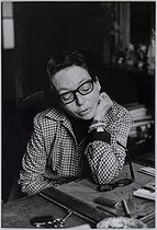 Marguerite Duras (1914-1996), French woman of letters, April 1967. Photograph by Jean Marquis (1926-2019). Bibliothèque historique de la Ville de Paris. © Jean Marquis / BHVP / Roger-Viollet