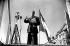 Discours du général Charles De Gaulle à Compiègne (Oise), en 1948. © Roger-Viollet