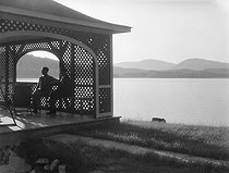 Lake in the Laurentian Mountains. Quebec (Canada), circa 1937. © Laure Albin Guillot / Roger-Viollet