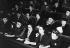 Conférence pour la journée internationale de la femme. Londres (Angleterre), 8 mars 1946. © Ullstein Bild/Roger-Viollet