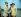 Guerre 1939-1945. général De Gaulle et le général George C. Marshall. 1945. © Bilderwelt/Roger-Viollet