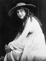 Mary Pickford (1893-1979), actrice canadienne, 1921. © Ullstein Bild / Roger-Viollet