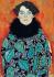 "Gustav Klimt (1862-1918). ""Johanna Staude"". 1917-1918 (portrait inachevé). © Imagno/Roger-Viollet"