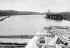 Canal de Panama. Entrée du canal sur l'Atlantique (section du canal au niveau de la mer au nord de Gatún). 1913. © Jacques Boyer / Roger-Viollet