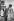 Le général de Gaulle en visite à Addis-Abeba et le Négus Hailé Sélassié pendant l'exécution des hymnes nationaux à l'aéroport, août 1966. © Roger-Viollet