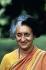Indira Gandhi (1917-1984), femme politique indienne. 1984. © Ullstein Bild/Roger-Viollet