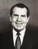 Richard Milhous Nixon (1913-1994), 37ème président des États-Unis. © Iberfoto / Roger-Viollet