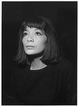 Juliette Gréco (born in 1927), French actress and singer. Paris, 1961. © Roger Berson/Roger-Viollet