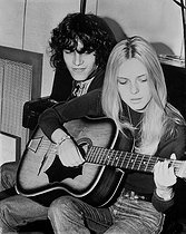 France Gall and Julien Clerc, French singers. © Roger-Viollet