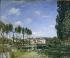 "Alfred Sisley (1839-1899). ""Moret, along the Loing"", 1892. Paris, musée d'Orsay. © Roger-Viollet"
