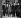 Iouri Gagarine (1934-1968), cosmonaute soviétique et premier homme à avoir effectué un vol dans l'espace, et Harold Macmillan (1894-1986), Premier ministre britannique. Londres (Angleterre), 13 juillet 1961. © PA Archive / Roger-Viollet