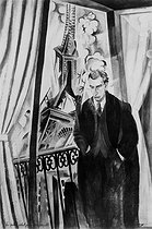 Robert Delaunay (1885-1941). Philippe Soupault (1897-1990), French writer. Paris, Louis-Carré gallery.    © Roger-Viollet