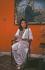 Benazir Bhutto (1953-2007), femme politique pakistanaise. © Françoise Demulder / Roger-Viollet
