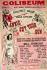 """Affiche pour la comédie musicale """"Annie du Far West"""" composée par Irving Berlin, livret de Herbert et Dorothy Fields. Londres (Angleterre), théâtre du Colisée, 1946. © TopFoto/Roger-Viollet"""