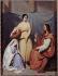 """Henry Scheffer (1798-1862). """"Jésus chez Marthe et Marie"""". Huile sur toile. Paris, musée de la Vie romantique.   © Musée de la Vie Romantique/Roger-Viollet"""