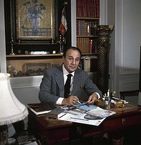 Tino Rossi (1907-1983), French actor and singer. France, circa 1970. © Roger-Viollet
