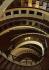 Les bâtiments de l'Ecole de Danse de l'Opéra de Paris, architecte : Christian de Portzamparc. Nanterre (Hauts-de-Seine), octobre 1987. © Colette Masson/Roger-Viollet