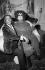 "Salvador Dali (1904-1989), Spanish painter and engraver, with ""Fat Sister"". Paris.  © Jack Nisberg / Roger-Viollet"