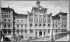Facade of the Seminario Conciliar de Madrid (Spain), circa 1900. © Léon et Lévy/Roger-Viollet