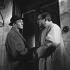 """The Gorilla Greets You"" (Le gorille vous salue bien), film by Bernard Borderie. Lino Ventura and André Valmy. France, 1958. © Alain Adler / Roger-Viollet"