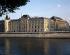 Paris law courts. Facade of the Court of Cassation. Paris (Ist arrondissement), 1990. © Pierre Barbier/Roger-Viollet
