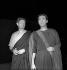 "Michel Piccoli et Alain Cuny dans ""Phèdre"", de Racine. Paris, T.N.P, 1957-1958. © Studio Lipnitzki / Roger-Viollet"
