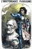 """Adelina Patti (1843-1919), cantatrice italienne, en Jeanne d'Arc, couronnant Giuseppe Verdi (1813-1901), compositeur italien. """"L'Indépendance parisienne"""", 12 avril 1868. © Roger-Viollet"""