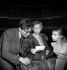 """Oedipe"" d'André Gide. Maurice Clavel, Madeleine Renaud et Sylvia Monfort. Paris, théâtre Marigny, avril 1951.     © Studio Lipnitzki/Roger-Viollet"