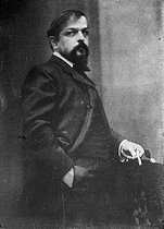 Claude Debussy (1862-1918), French composer. © Collection Harlingue / Roger-Viollet