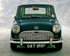 Automobile britannique Austin Mini. © TopFoto/Roger-Viollet