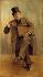 """Léopold Stevens (1866-1935), """"Georges Courteline (1858-1929), écrivain français"""", huile sur toile. Paris, musée Carnavalet.        © Musée Carnavalet / Roger-Viollet"""