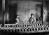 Mise en moules des camemberts dans une ferme aux environs de Vimoutiers (Calvados). 1927. © Jacques Boyer/Roger-Viollet