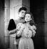 """Anne et le dragon"". Henri Vidal and Katia Lova. Paris, Théâtre Verlaine, December 1945. © Studio Lipnitzki / Roger-Viollet"