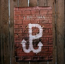 World War II. Insurrection of Warsaw (Poland), August 1st, 1944. Initials took up by Solidarnosc on 1980. © Roger-Viollet
