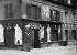 """""""The Jockey"""", café attended by the artists, boulevard du Montparnasse. Paris. © Collection Roger-Viollet / Roger-Viollet"""