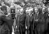 Ministère Poincaré, 1926. Paul Painlevé, Louis Barthou, Raymond Poincaré et Aristide Briand, hommes politiques français. © Roger-Viollet