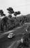 4 CV Renault car on the road from Villafranca del Panadés to Barcelona (Spain), 1956. © Roger-Viollet