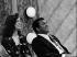 Mohamed Ali (anciennement Cassius Marcellus Clay, 1942-2016), champion du monde de boxe poids lourds accompagné de son épouse. © TopFoto / Roger-Viollet