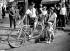 Tandem day, avenue d'Orléans. Paris, May 1938. © Roger-Viollet