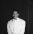 Henri Salvador (1917-2008), French singer. Paris, théâtre Bobino, September 1956. © Boris Lipnitzki/Roger-Viollet