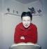 Simone de Beauvoir (1908-1986), écrivain français. Paris, 1957. © Jack Nisberg/Roger-Viollet
