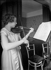 Ginette Neveu (1919-1949), French violinist. © Albert Harlingue/Roger-Viollet