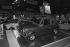 "Presentation of a convertible Austin ""Mini"" at the Car Show, Paris, in 1978. © Jacques Cuinières / Roger-Viollet"