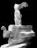 """""""La Victoire de Samothrace"""". Paris, musée du Louvre. © Léopold Mercier/Roger-Viollet"""