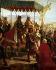 """Eloi-Firmin Féron (1802-1876). """"Entrée de Charles VIII (1470-1498), roi de France, à Naples (Italie), le 12 mai 1495"""". Musée de Versailles.     © Roger-Viollet"""