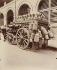"""Milkman's carriage. Album """"The carriage in Paris, 1910"""". Photography by Eugène Atget (1857-1927). Paris, musée Carnavalet. © Eugène Atget / Musée Carnavalet / Roger-Viollet"""