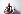 Alberto Korda (1928-2001), photographe cubain, avec deux de ses oeuvres représentant le Che et Jean-Paul Sartre. La Havane (Cuba). 1988. © Françoise Demulder/Roger-Viollet